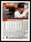 2000 Topps #8  Jeff Conine  Back Thumbnail