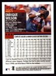 2000 Topps #401  Enrique Wilson  Back Thumbnail