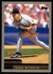 2000 Topps #344  Todd Ritchie  Front Thumbnail
