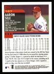 2000 Topps #167  Aaron Sele  Back Thumbnail