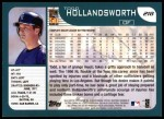 2001 Topps #218  Todd Hollandsworth  Back Thumbnail