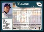 2001 Topps #146  Tom Glavine  Back Thumbnail