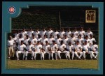 2001 Topps #757   Chicago Cubs Team Front Thumbnail