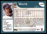 2001 Topps #658  Rick White  Back Thumbnail