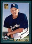 2001 Topps #498  Jeff D'Amico  Front Thumbnail
