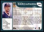 2001 Topps #665  Nomar Garciaparra  Back Thumbnail