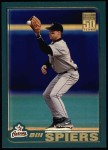 2001 Topps #310  Bill Spiers  Front Thumbnail