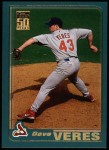 2001 Topps #252  Dave Veres  Front Thumbnail