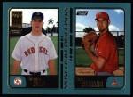 2001 Topps #743  Brandon Mims / Blake Williams  Front Thumbnail