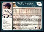 2001 Topps #204  Antonio Alfonseca  Back Thumbnail