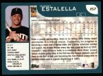 2001 Topps #157  Bobby Estalella  Back Thumbnail