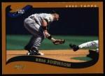 2002 Topps #609  Russ Johnson  Front Thumbnail