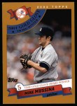 2002 Topps #696   -  Mike Mussina Golden Glove Front Thumbnail