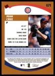 2002 Topps #671  Juan Cruz  Back Thumbnail
