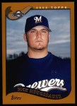 2002 Topps #377  Nick Neugebauer  Front Thumbnail