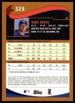 2002 Topps #329  Gabe Gross  Back Thumbnail