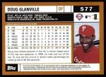 2002 Topps #577  Doug Glanville  Back Thumbnail
