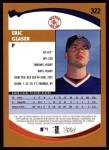 2002 Topps #322  Eric Glaser   Back Thumbnail