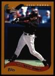 2002 Topps #272  Jose Vizcaino  Front Thumbnail