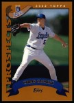 2002 Topps #308  Chris George  Front Thumbnail