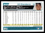 2004 Topps #547  Wil Cordero  Back Thumbnail