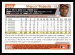2004 Topps #375  Miguel Tejada  Back Thumbnail