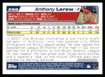 2004 Topps #298   -  Anthony Lerew First Year Back Thumbnail