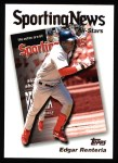 2004 Topps #721   -  Edgar Renteria All-Star Front Thumbnail