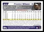 2004 Topps #217  Preston Wilson  Back Thumbnail