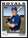 2004 Topps #321   -  Tim Frend First Year Front Thumbnail