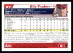 2004 Topps #511  Billy Traber  Back Thumbnail