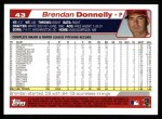 2004 Topps #43  Brendan Donnelly  Back Thumbnail