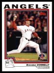 2004 Topps #43  Brendan Donnelly  Front Thumbnail