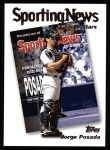 2004 Topps #363   -  Jorge Posada All-Star Front Thumbnail