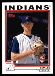 2004 Topps #383  Cliff Lee  Front Thumbnail