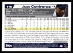 2004 Topps #116  Jose Contreras  Back Thumbnail