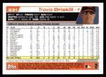 2004 Topps #231  Travis Driskill  Back Thumbnail