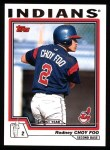 2004 Topps #320   -  Rodney Choy Foo First Year Front Thumbnail