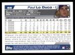 2004 Topps #58  Paul Lo Duca  Back Thumbnail