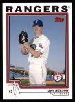 2004 Topps #382  Jeff Nelson  Front Thumbnail
