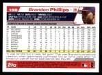 2004 Topps #168  Brandon Phillips  Back Thumbnail