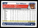2004 Topps #135  Tom Wilson  Back Thumbnail