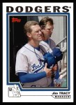 2004 Topps #281  Jim Tracy  Front Thumbnail