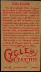 1912 T207 Reprint  Mike Donlin  Back Thumbnail