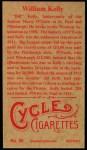 1912 T207 Reprint  Billy Kelly  Back Thumbnail