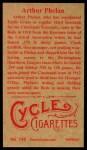 1912 T207 Reprint  Art Phelan  Back Thumbnail