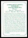 1978 TCMA The 1960's #100  Hoyt Wilhelm  Back Thumbnail