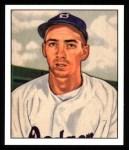 1950 Bowman REPRINT #194  Billy Cox  Front Thumbnail