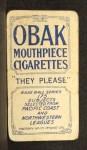 1910 T212 Obak xOLD Harkins  Back Thumbnail