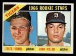 1966 Topps #209   -  Fritz Fisher / John Hiller Tigers Rookies Front Thumbnail